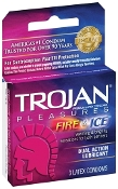 Trojan Fire and Ice Lubricated 3pk